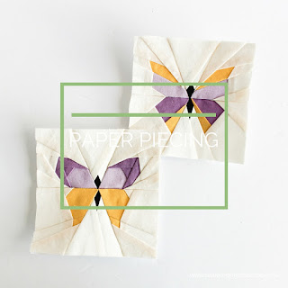 Paper Piecing a Quilting Technique