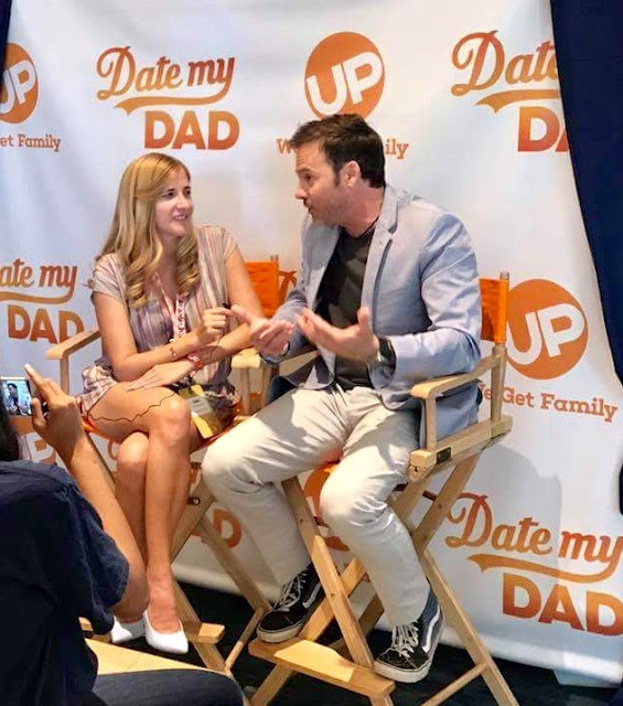 Barry Watson interview on new UP TV show DATE MY DAD