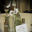Grace's Scrap Attic: Upcycling Wine Bottles Creating Centerpieces