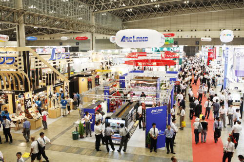 JAPAN DIY HOMECENTER SHOW 2016 at Makuhari Messe, Chiba