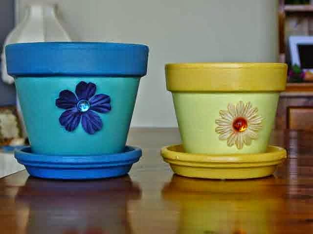 pote de cerâmica customizado
