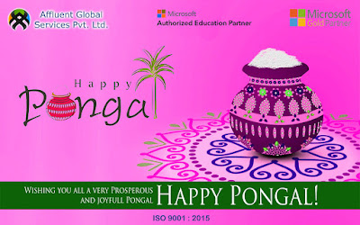 Affluent Team Wishes you all a Happy Pongal 2017..