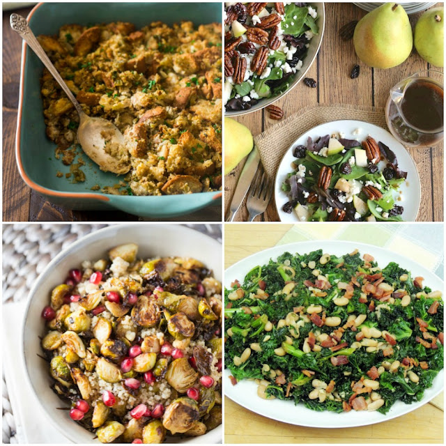 24 Healthy Holiday Side Dishes from www.bobbiskozykitchen.com