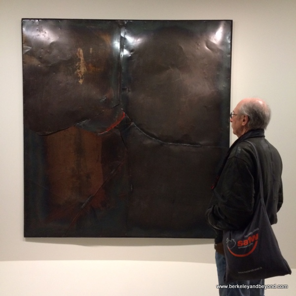 Alberto Burri exhibit at Guggenheim Museum in NYC