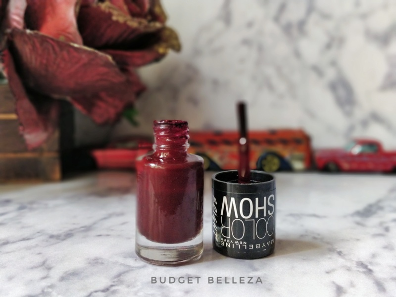 Maybelline Colorshow Bright Sparks in Molten Maroon: Review, Price ...