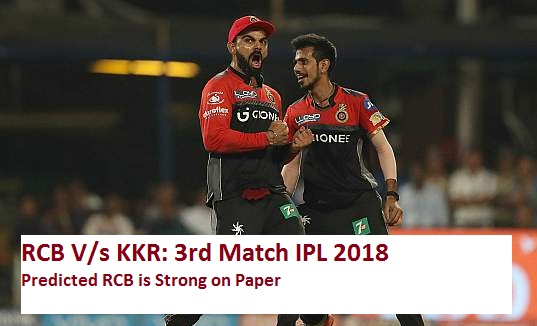 IPL 2018 match prediction