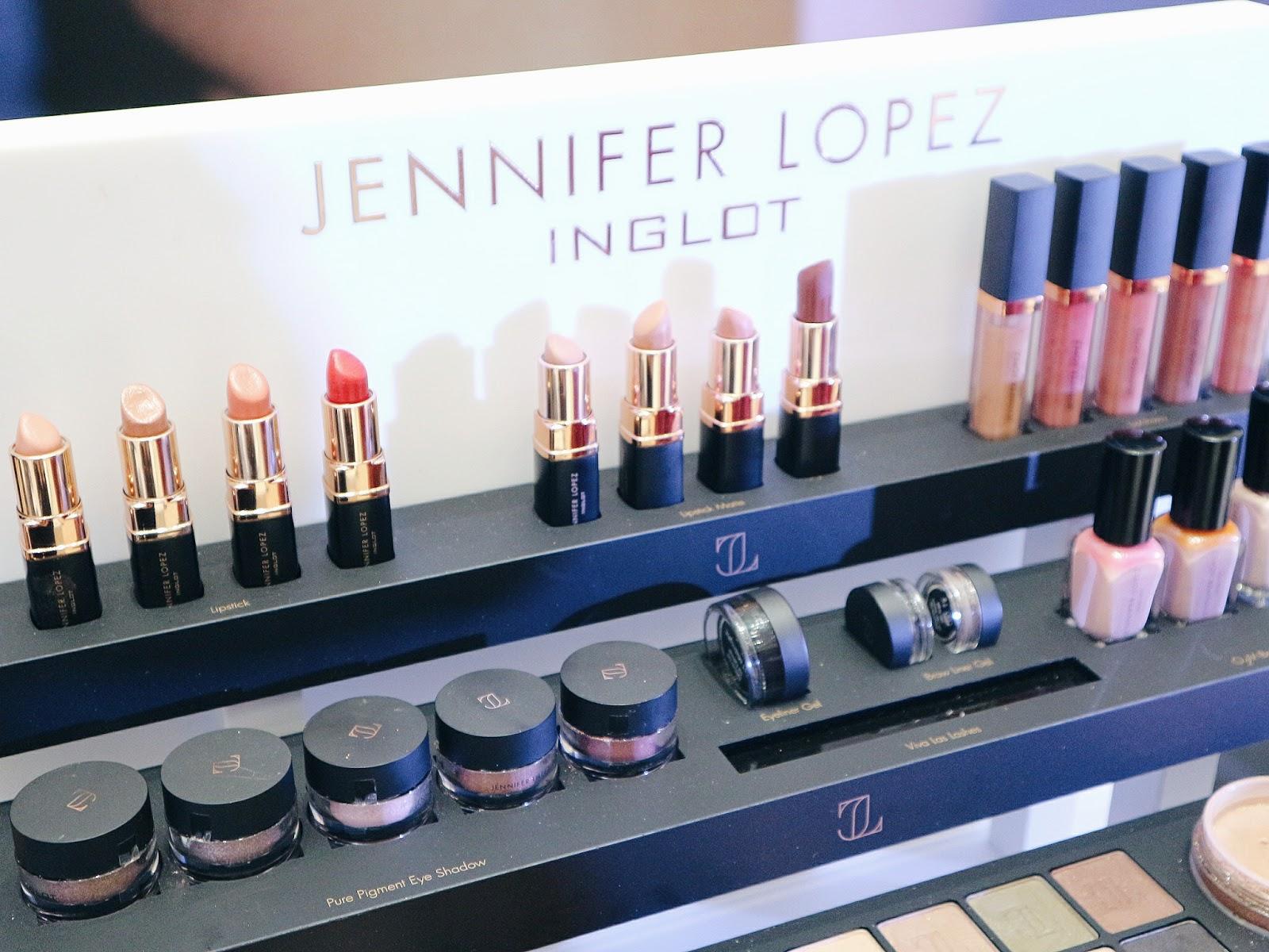Jennifer Lopez Lipstick Inglot Cosmetics Makeup collection