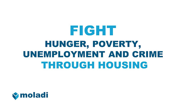 fight hunger poverty unemployment crime through housing coops