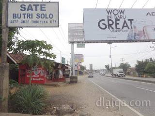 memasuki Jalan Raya Natar (Jalan Lintas Sumatera)
