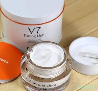 Cách phân biệt kem dưỡng V7 Toning Light THẬT GIẢ