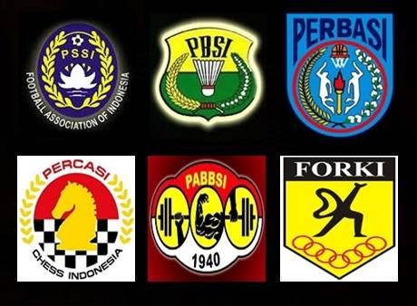 nama organisasi induk olahraga indonesia