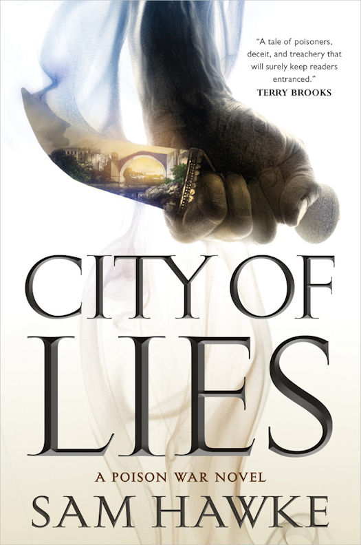 Interview with Sam Hawke, author of City of Lies