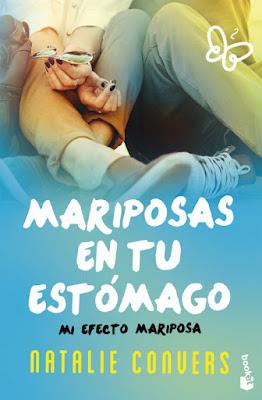 LIBRO - Mariposas en tu estómago Mi efecto mariposa : Natalie Convers (Booket - 8 noviembre 2016) NOVELA ROMANTICA | Edición papel bolsillo Comprar en Amazon España