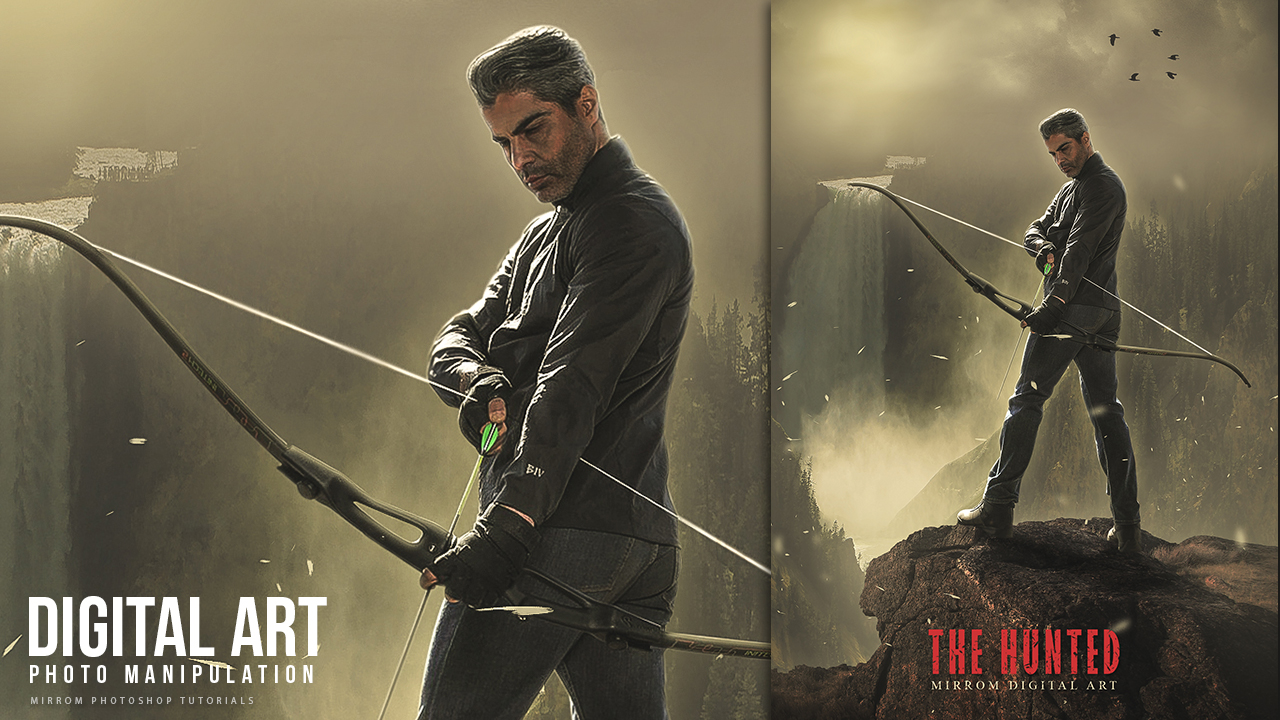 Making Of The Hunted Concept Art Photo Manipulation Photoshop Tutorial
