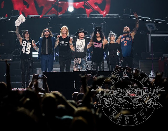 Guns N' Roses - Madison Square Garden, New York, NY 11/10/2017