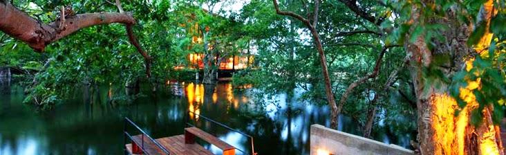 La guarida de bam hoteles con piscinas incre bles for Hoteles en o grove con piscina