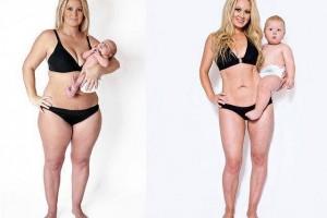 que puedo hacer para bajar de peso despues del embarazo
