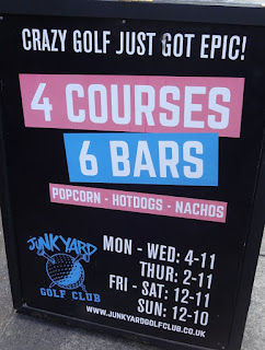 Junkyard Golf in London