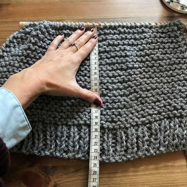 Tutorial gratis para tejer un gorro de lana gordita