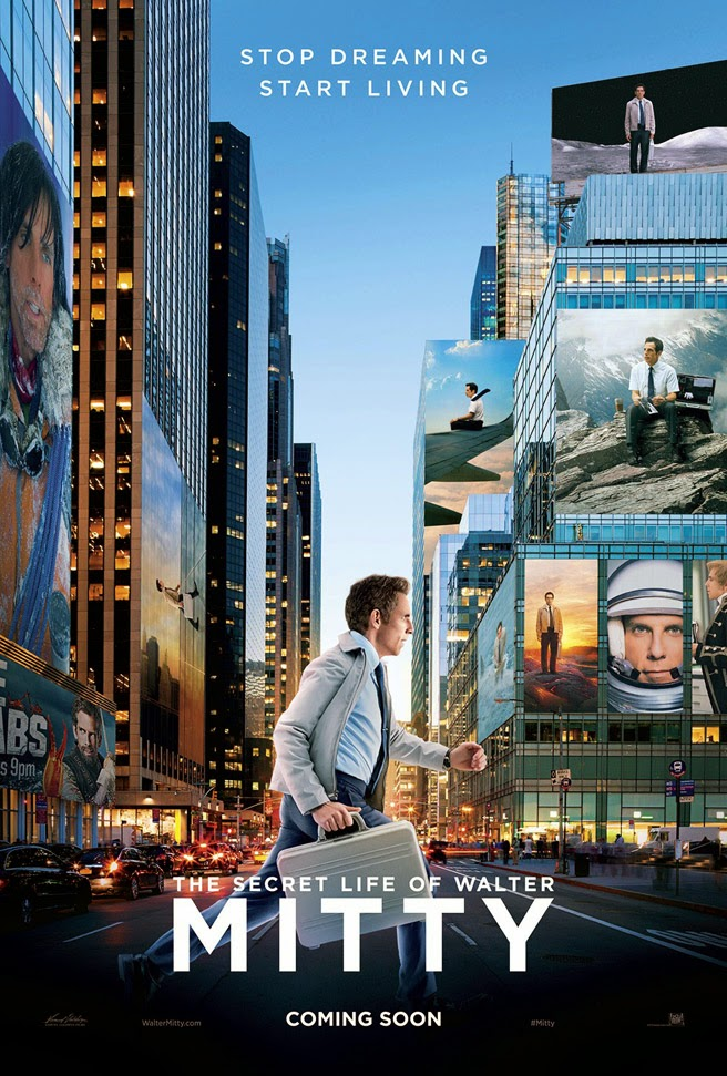 Movie Review - The Secret Life of Walter Mitty (2013)