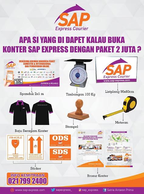 Peluang usaha jadi agen SAP Express modal 2 juta.