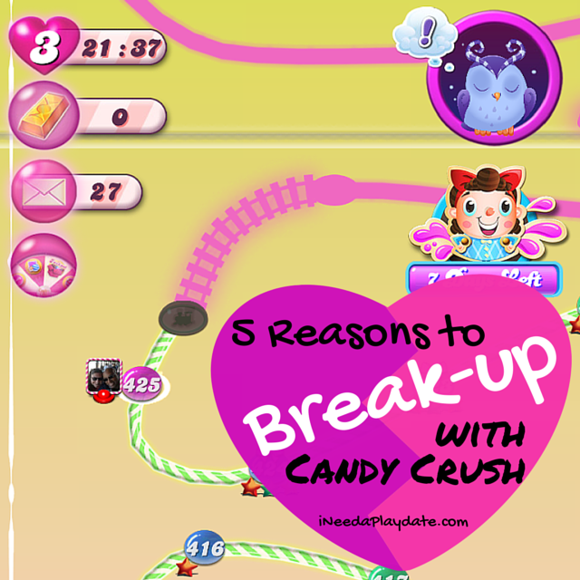 5 Reasons to Break Up with Candy Crush
