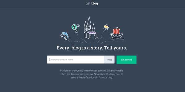 Domain '.Blog' Kini Sudah Tersedia