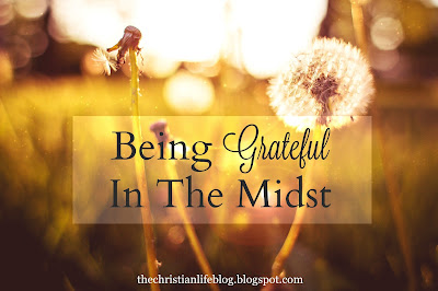 Being Grateful In The Midst