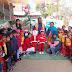 नन्हें मुन्ने सांता क्लॉज ने धूमधाम से मनाया क्रिसमस