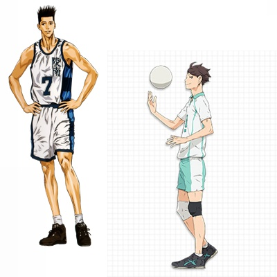 Sendoh and Oikawa | Blushing Geek