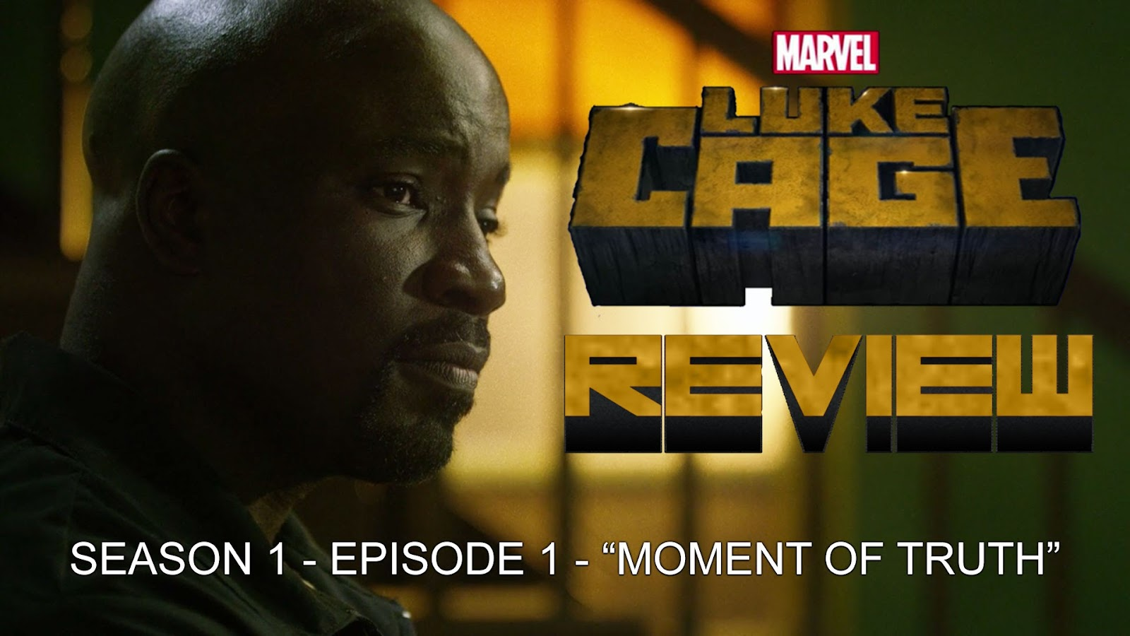 TV review Luke Cage Season 1 podcast
