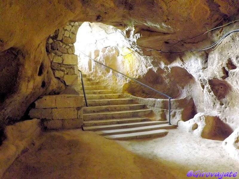 città sotterranea cappadocia Kirkgöz