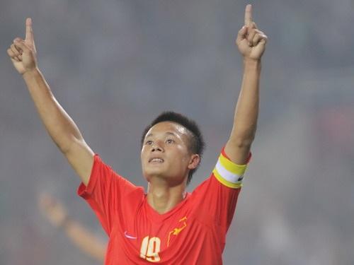 tiền vệ phải Thành Lương có mặt trong đội hình tiêu biểu nhất AFF cup 2014.