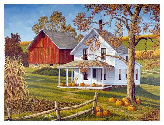 Inspiration And Crafts Autumn Artist John Sloane