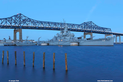 New England photograophy of Battleship Cove in Fall River Massachusetts