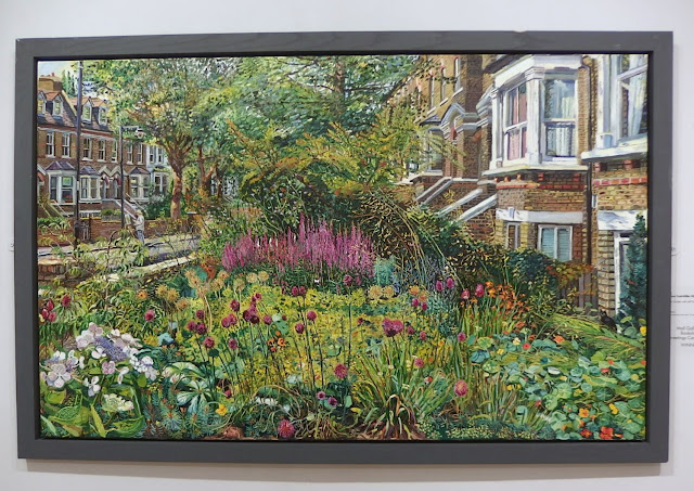 Front Garden with Self Painting by Melissa Scott-Miller