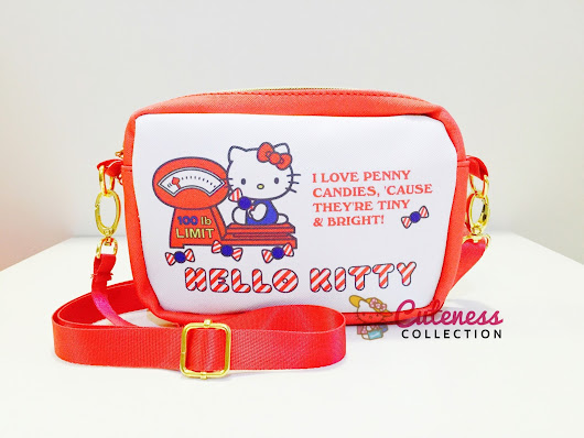 HELLO KITTY CHILDREN SLING BAG - CODE : HKCSB 04