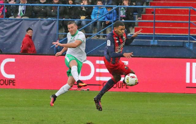 Jordan Veretout a marqué contre Caen son premier but en vert