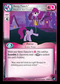My Little Pony Berry Punch, Head In the Clouds High Magic CCG Card