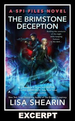 Excerpt, The Brimstone Deception, Lisa Shearin, Bea's Book Nook