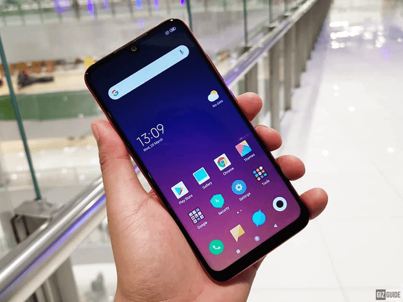 Redmi Note 7 screen