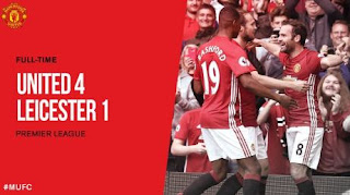 Manchester United vs Leicester City 4-1