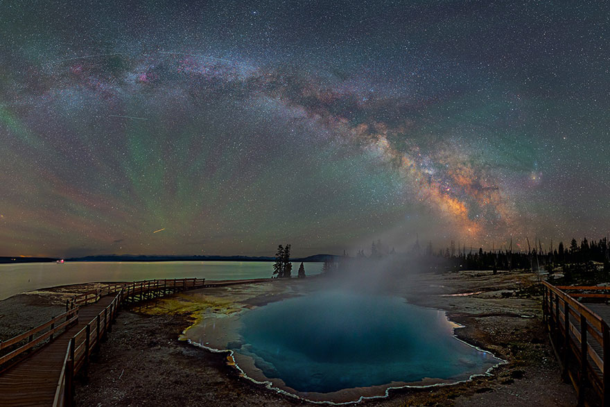 These Images Of The Milky Way Over Yellowstone Will Make Your Heart Race