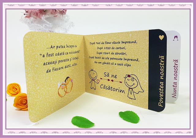 Invitatii Nunta Poveste de Nunta 1