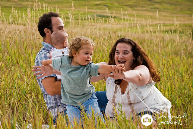 portrait photography of a family in Boulder, Colorado