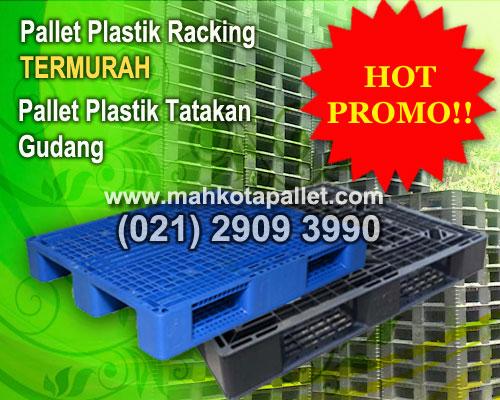 Jual Pallet Plastik untuk Gudang & Pabrik