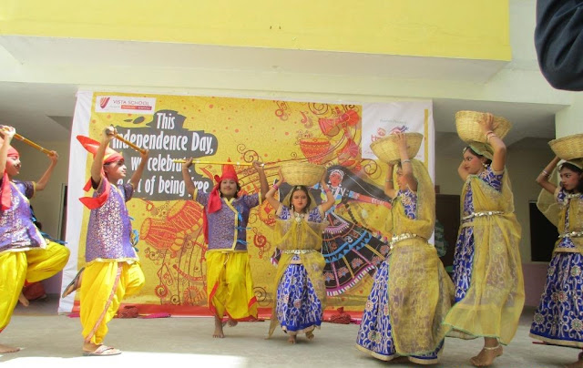 Vista School celebrates 'TIRANGAA 2016'