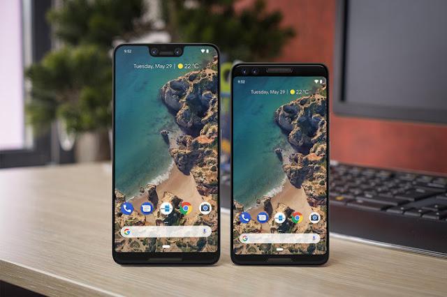 Desain Google Pixel 3 dan Pixel 3 XL