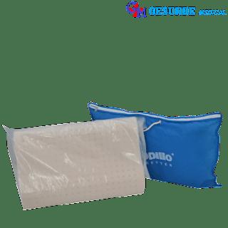 bantal dunlopillo sintetis latex bergelombang