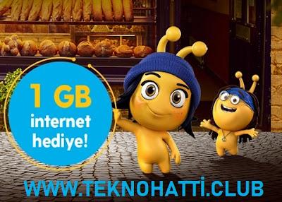 Turkcell Ramazan Kampanyası Bedava 1GB Hediye - 2020